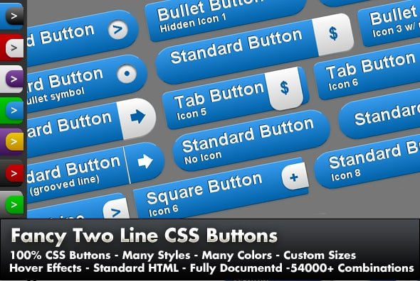Cool and Responsive Button CSS Style Example 2021