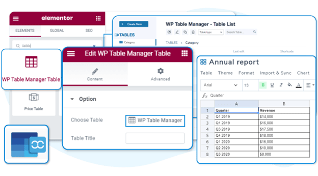WP Table Manager 3